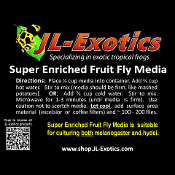 Fruit Fly Media - 30 lbs. - Institution Special!