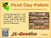 Fired Clay Pellets (LECA) - 1 gallon